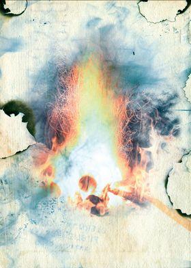 Burnt Parchment II