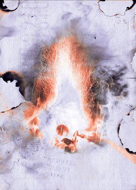 Burnt Parchment V