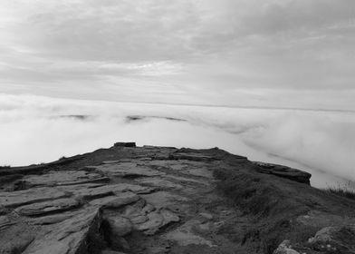 Cloud Inversion Above Corn Du