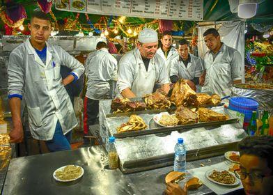Les cuisiniers de Marrakech