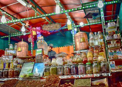 Le marchand de Marrakech