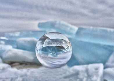 Blue Ice in the bulb