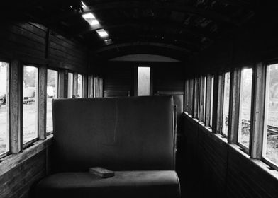 Abandoned Ghost Train