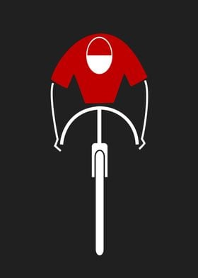 Cycling, retro vintage poster