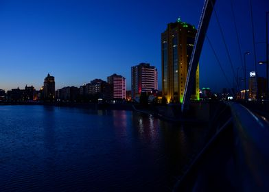Blue river Astana