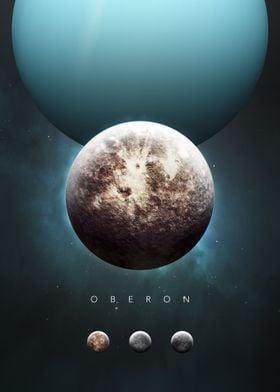 A Portrait of the Solar System: Oberon