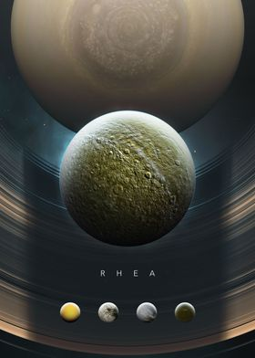 A Portrait of the Solar System: Rhea