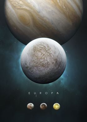A Portrait of the Solar System: Europa