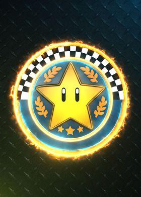 3D Star Cup emblem
