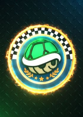 3D Shell Cup Emblem