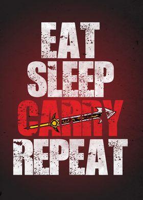 Eat Sleep Carry Repeat