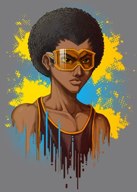 Afro Goggles