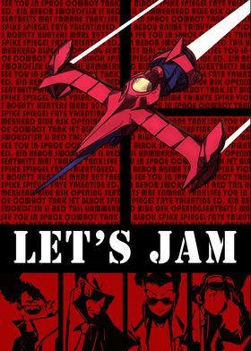 Cowboy Bebop lets jam