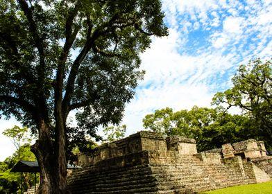Campo de Pelota. Copán Ruinas
