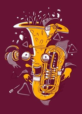psycho bass tube