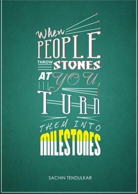 Mile'stones'