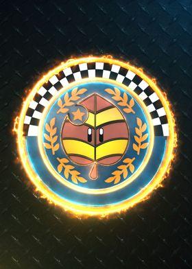 3D Leaf Cup Emblem