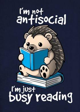 Antisocial hedgehog