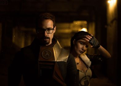 Gordon Freeman and Alyx