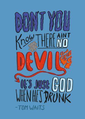 Tom Waits  - Drunk