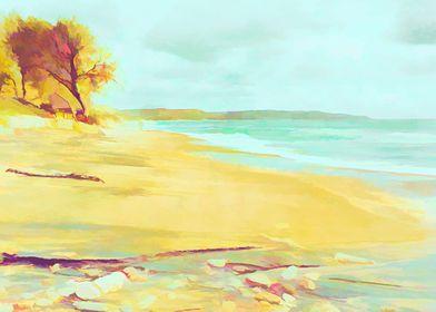 Mellow beach