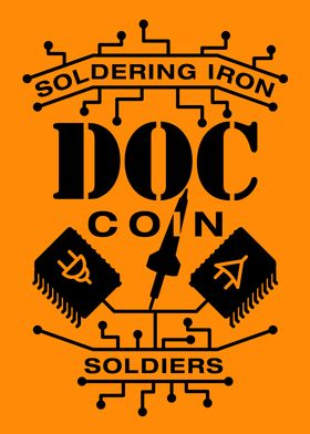 Soldering Iron Soldiers