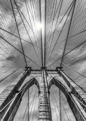 Brooklyn Bridge in Detail