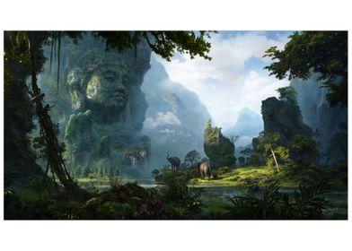 Unexplored Ruins-06 Buddha