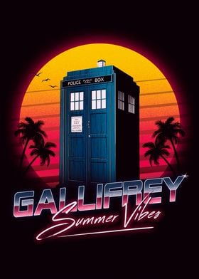 Gallifrey Summer Vibes