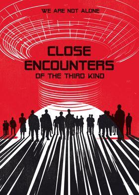 Close Encounters art movie