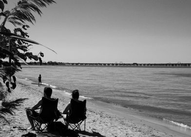 Sunbathers, Kent Island