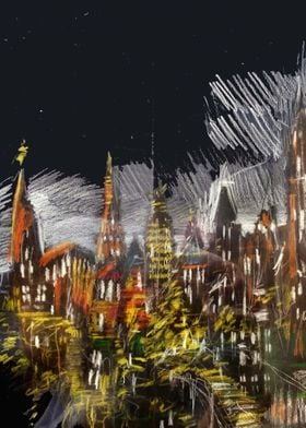 Scribbled City
