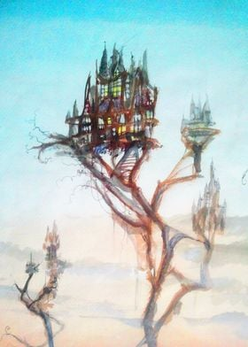 Spindly Tree Village