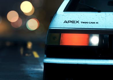 AE86 Rearview