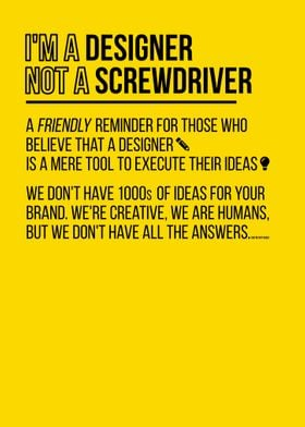 Not a Screwdriver
