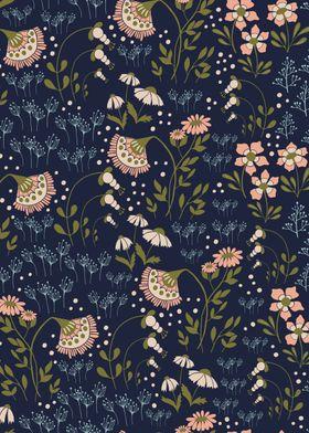Textile Floral Pattern 04