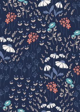 Textile Floral Pattern 02