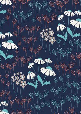 Textile Floral Pattern 03