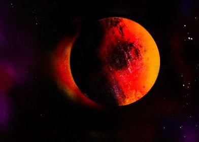 Solar blood eclipse