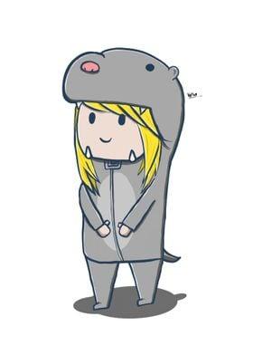 Otter Costume