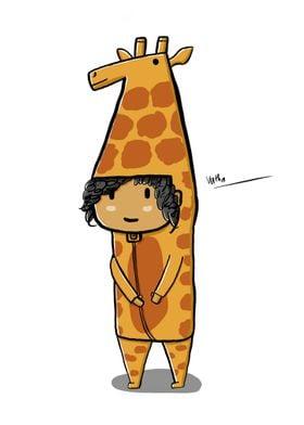 Giraffe Costume