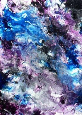 Violet-blue unknown World