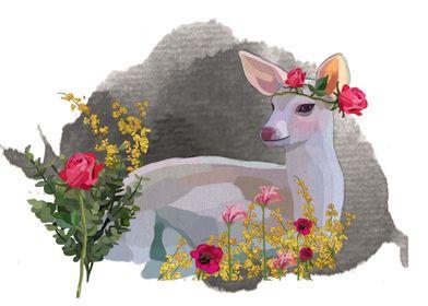 Romantique deer