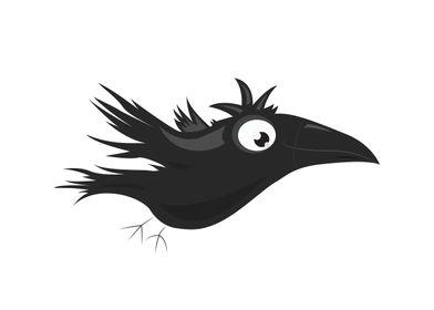 Clusmsy Crow