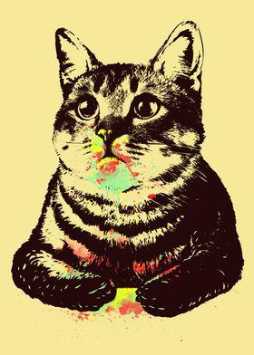 Paintlover Cat