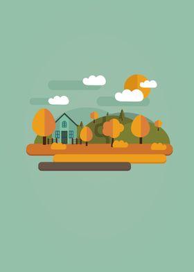 Flat Autumn