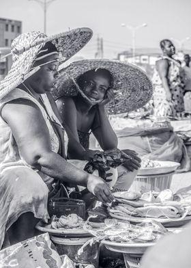 Ghanaian market woman