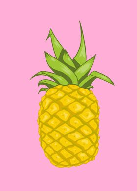 Solitary pineapple
