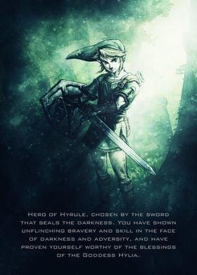 Legend of Zelda / Tagline