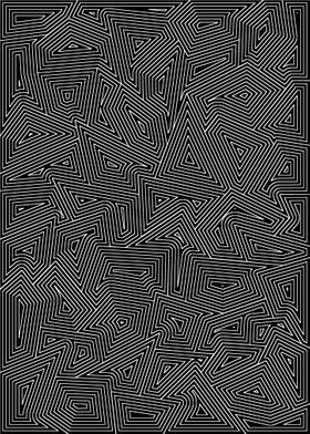 White on Black Line